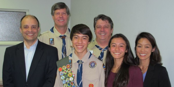 Eagle Scout – Aaron Bass
