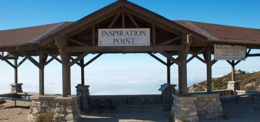 Inspiration Point in the San Gabriel Mountains